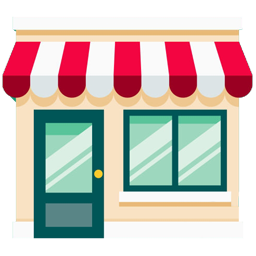 Small business store icon