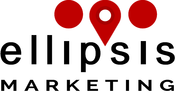 Ellipsis logo in black color